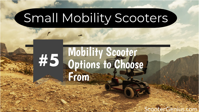 small mobility scooter